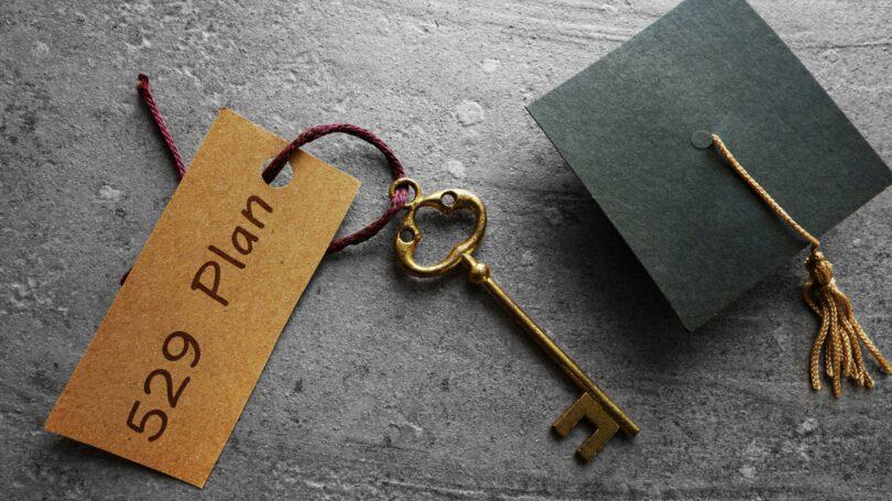 529 Plan Collage Savings Cap Key