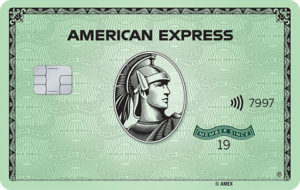 American Express Green Card Consumer Card Art