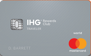 Ihg Rewards Club Traveler Card Art