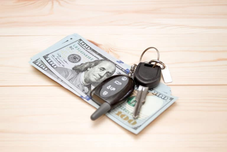 Cash Car Keys Money
