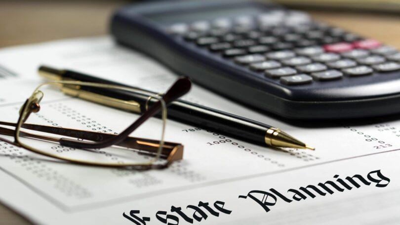 Estate Planning Calculator Pen