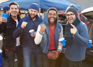 Football Tailgate Party Guys
