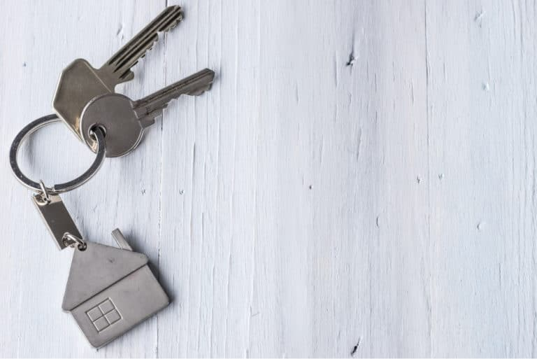 Keys House Keychain Real Estate Purchasing Renting Home