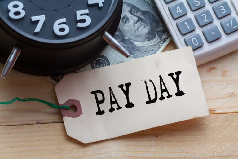 Pay Day Money Tag