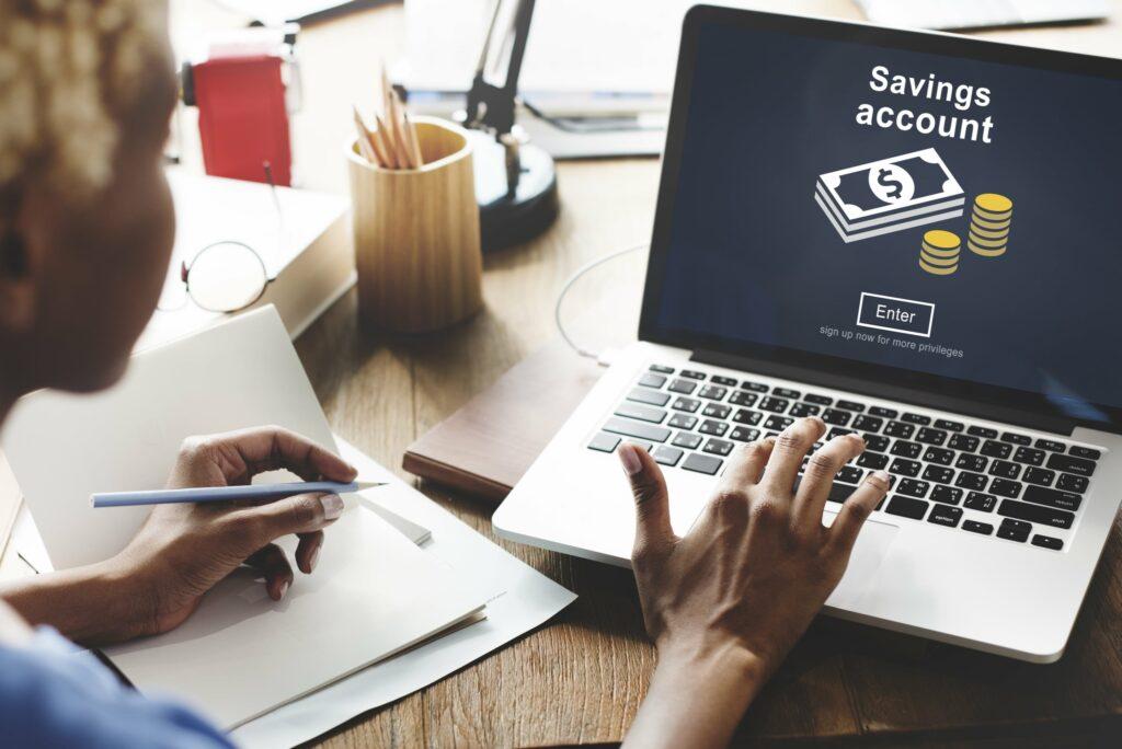 Savings Account Computer