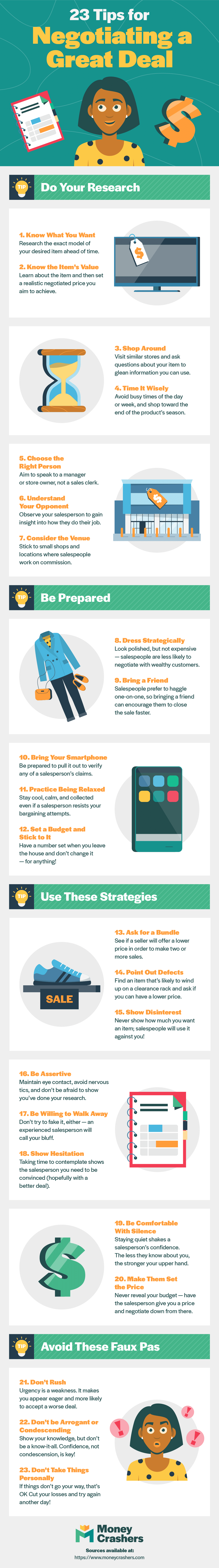 23 Tips For Negotiating A Great Deal Ig