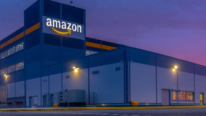 Amazon Warehouse Sunset Poland