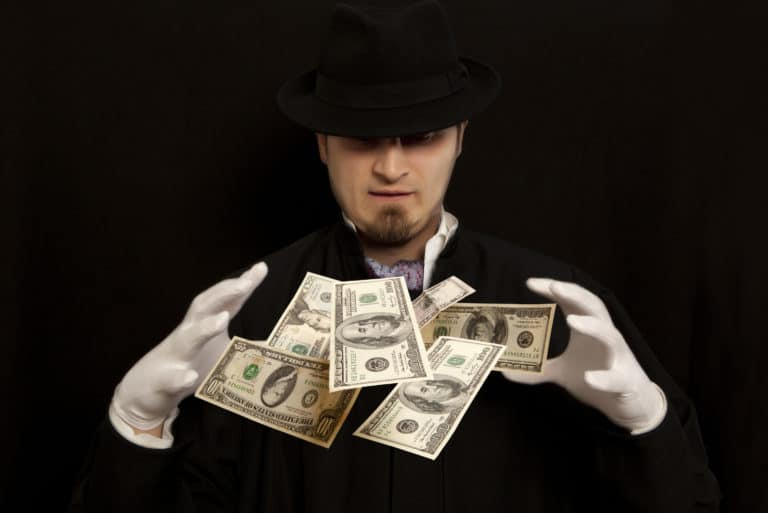 Magician Trick Money