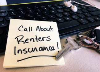 Renters Insurance Note