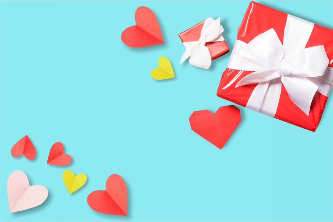 Box Valentines Day Hearts Paper Craft