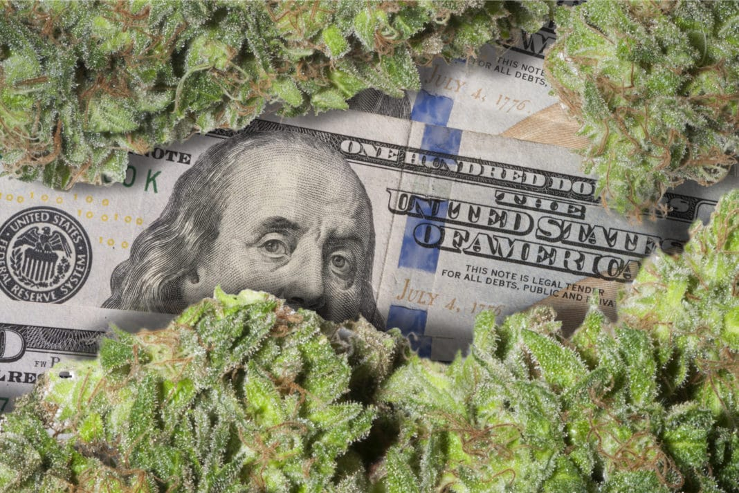 Cannabis Marijuana Money Cash Investing