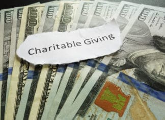 Charitable Giving Money Dollars
