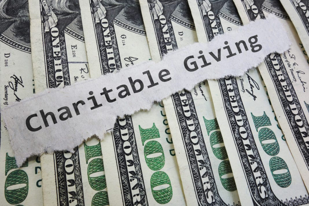 Charitable Giving Tax Deductions Money Bills