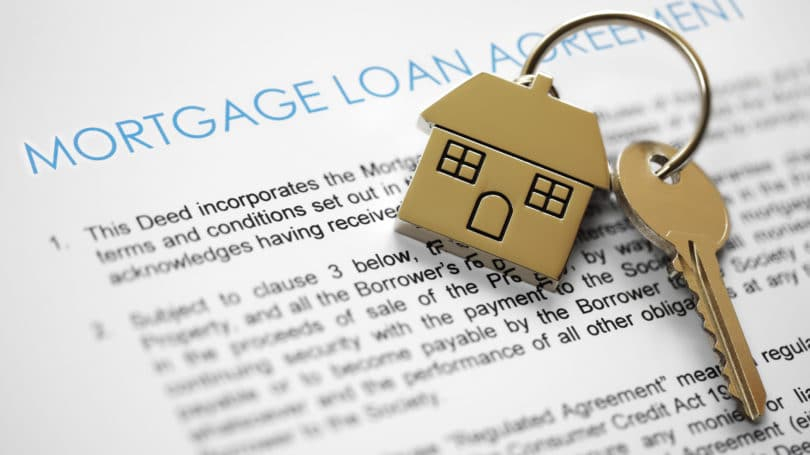 Home Mortgage Loan Agreement Keys Owner Financing