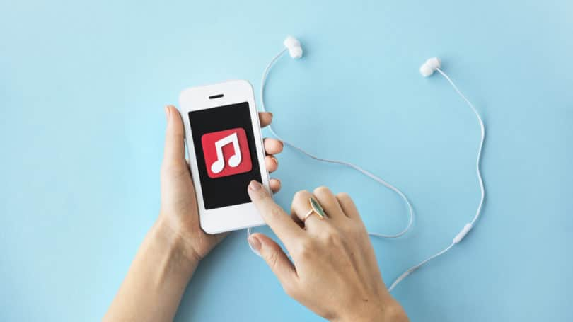 IPhone Playlist Musik Lagu Headphone