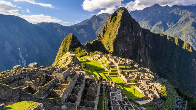 Machu Picchu Peru Historical Sanctuary Mountains