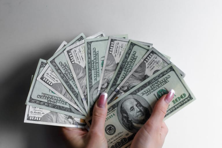 Thousand Dollars 100 Bills