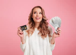 Cash Back Credit Cards Pink Woman