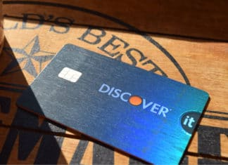 Discover It Card Restaurant