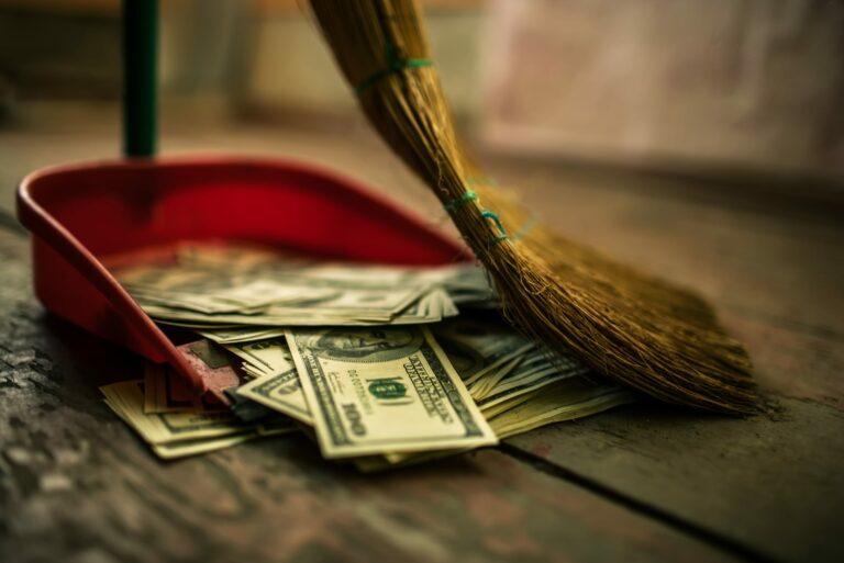 Sweep Money Clean