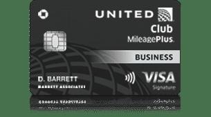 United Club Business Card Art