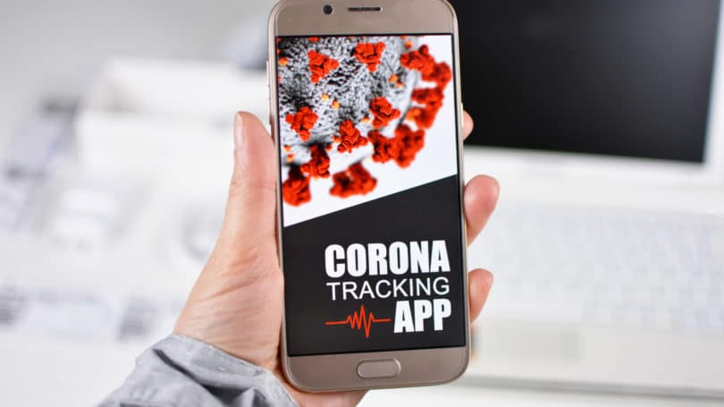 Corona Virus Contact Tracing App Tracking