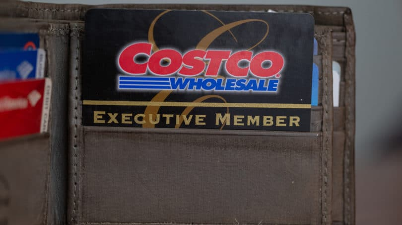 Costco Wholesaale Executive Member Card Wallet