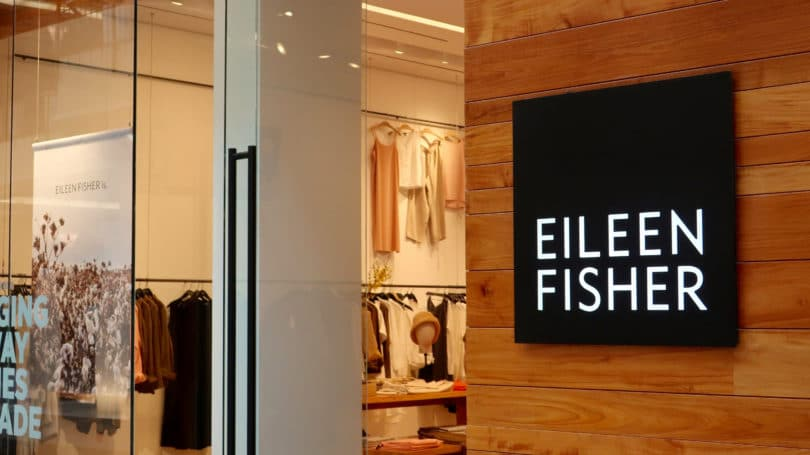 Eileen Fisher Retail Store Sign
