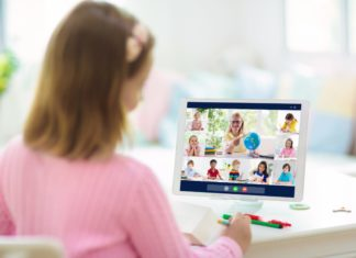 Remote Learning Online Tablet Kids Teacher School