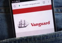 Vanguard App Phone In Back Pocket