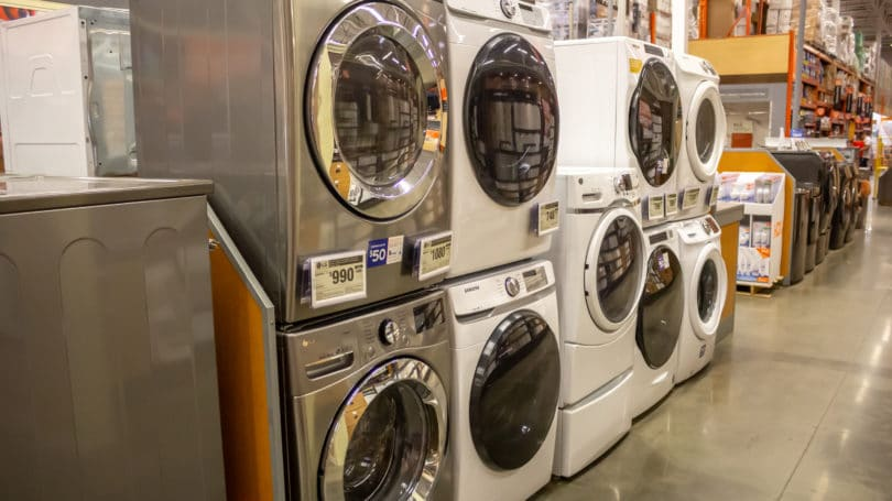 Washing Machine Dryers At Home Depot Floor Samples