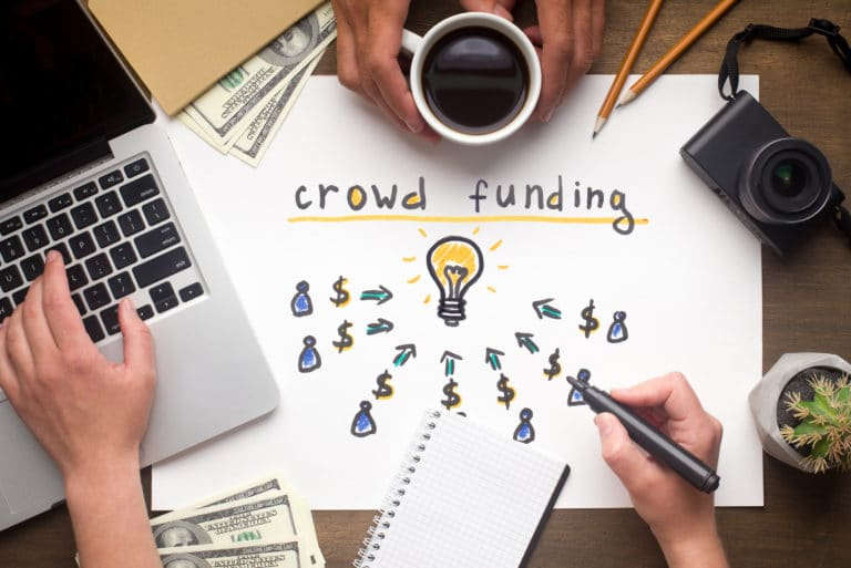 Crowdfunding Idea Campaign For Successful Fundraiser Discussion Strategy