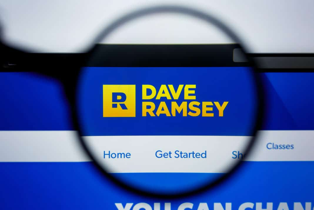 Dave Ramsey Website Research Magnifying Glass
