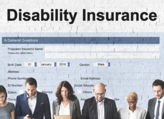 Disability Insurance Document Form Application Claim