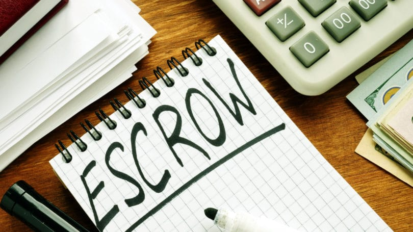 Escrow Marker Notepad Calculator