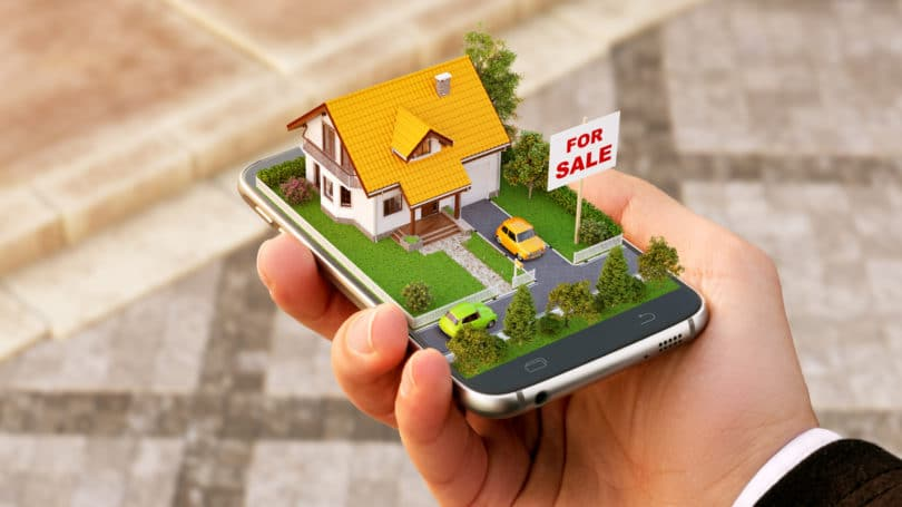 House For Sale App Phone Real Estate Search