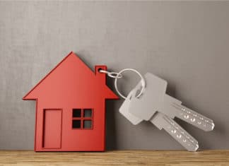 House Key Chain Keys Real Estate Buying Home