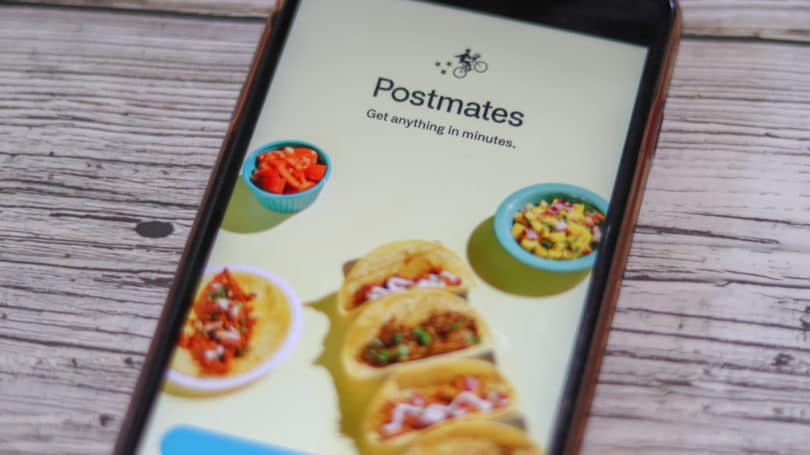 Postmates Cellphone App Food Delivery