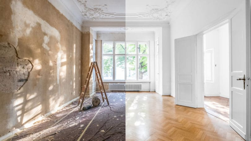 Renovation Concept Aoartment Before And After