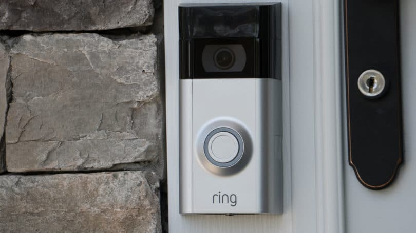 Ring Camera Alarm Doorbell Security System