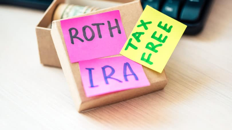 Roth Ira Tax Free Post Its Paper Box Savings