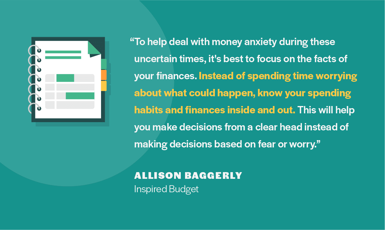 Financial advice from Allison Baggerly