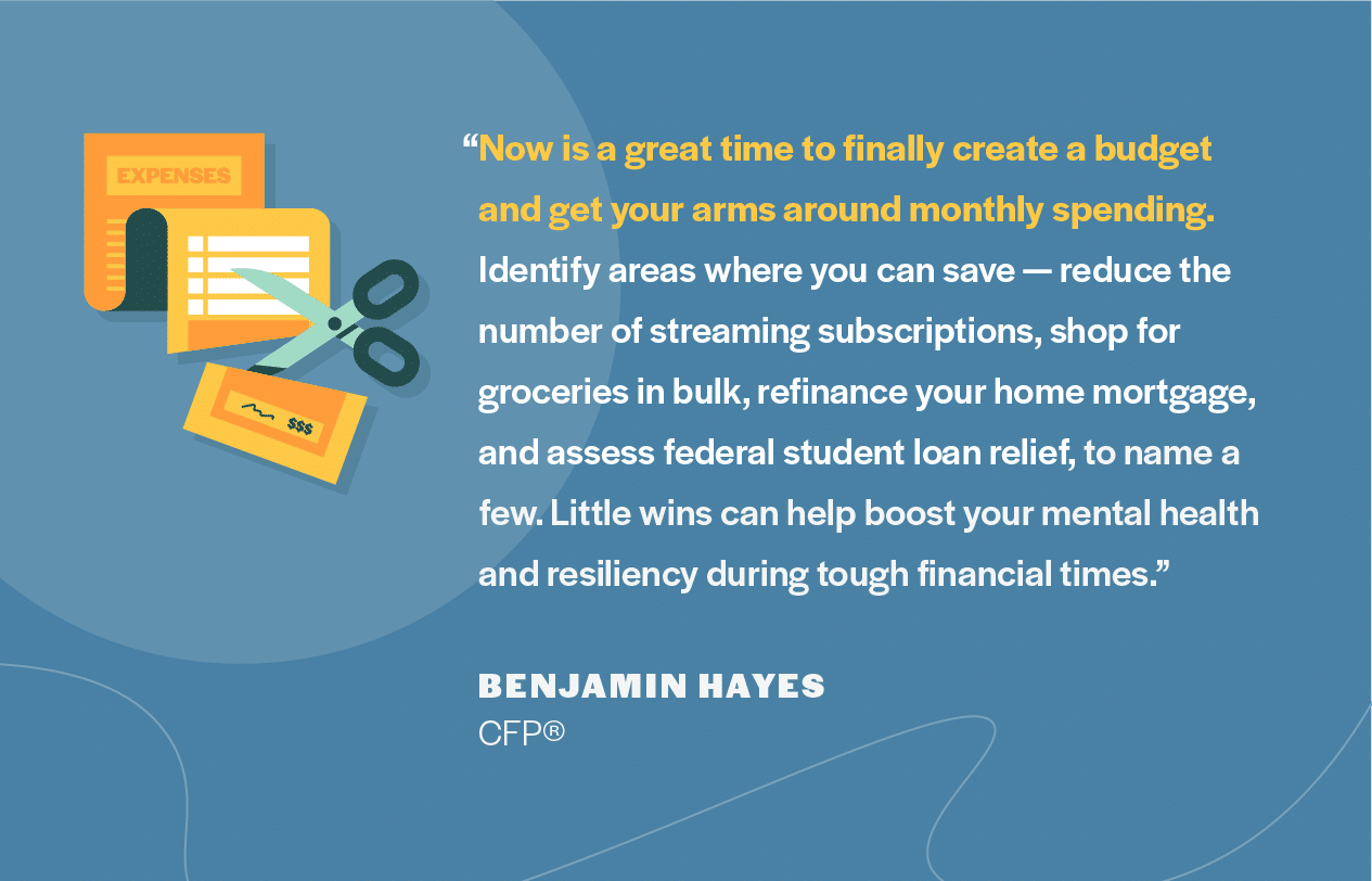 Financial advice from Benjamin Hayes