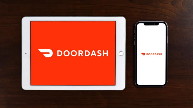 Doordash App Logo Tablet Phone