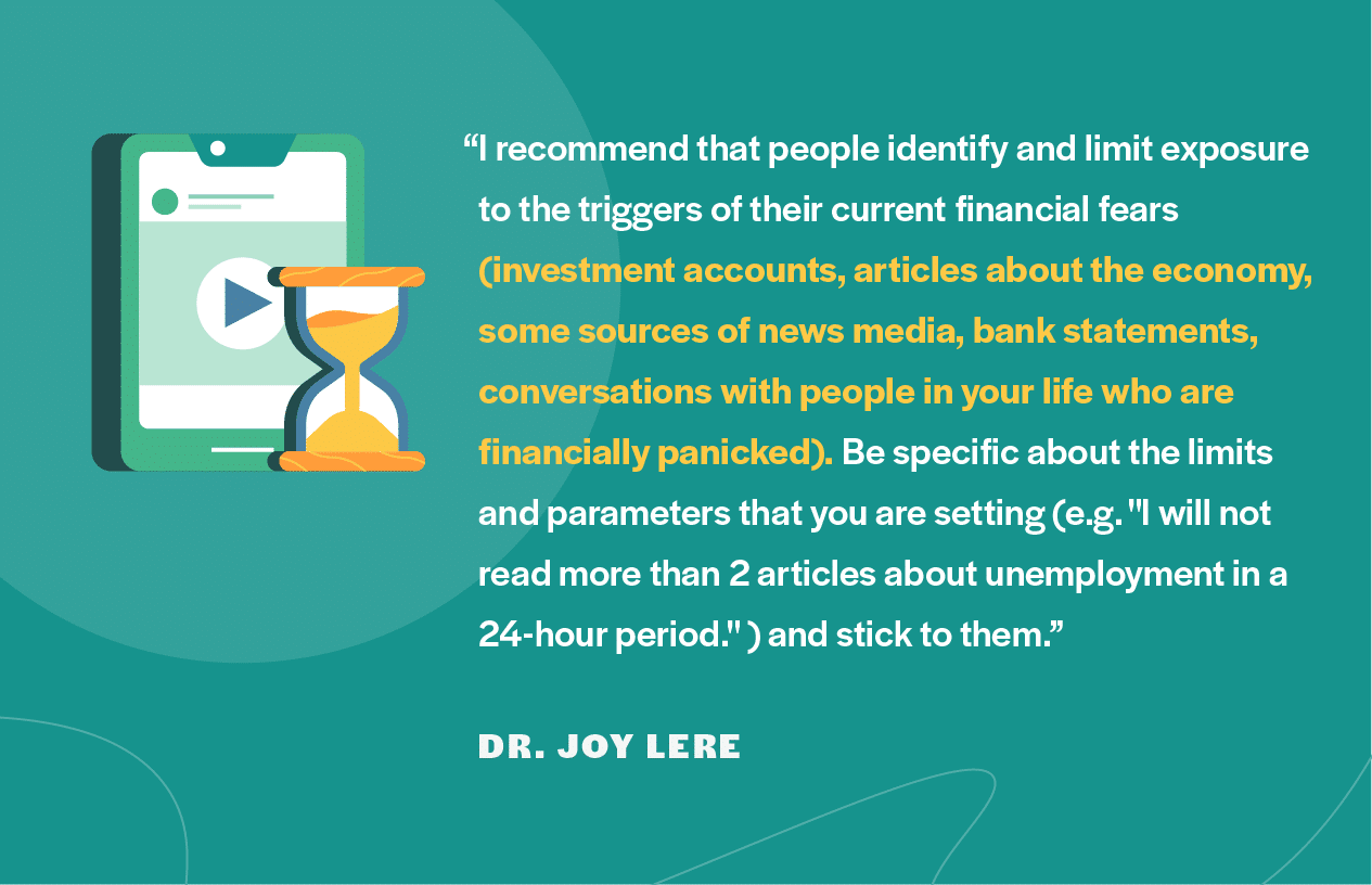 Financial advice from Dr. Joy Lere