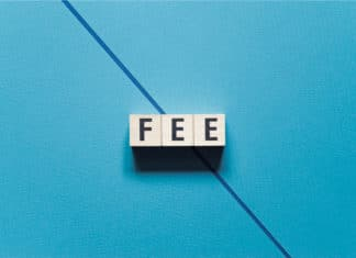 Fee Cutting Reducing Fees Block Letters