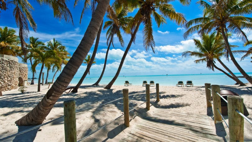 Footbridge Beach Key West