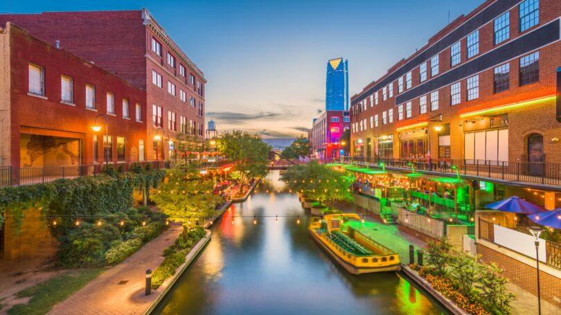 Oklahoma City Cityscape Bricktown