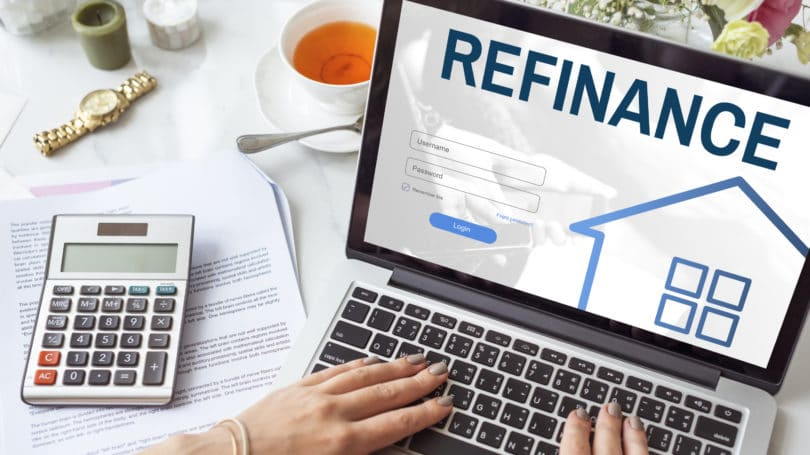 Refinance Home Laptop House Mortgage