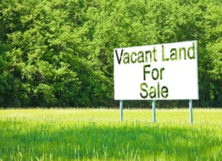 Vacant Land For Sale Sign